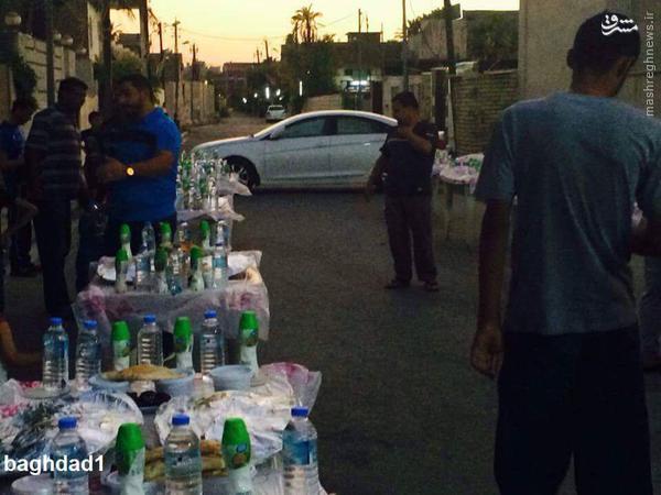 افطاری مسیحیان عراقی برای مسلمانان+تصاویر