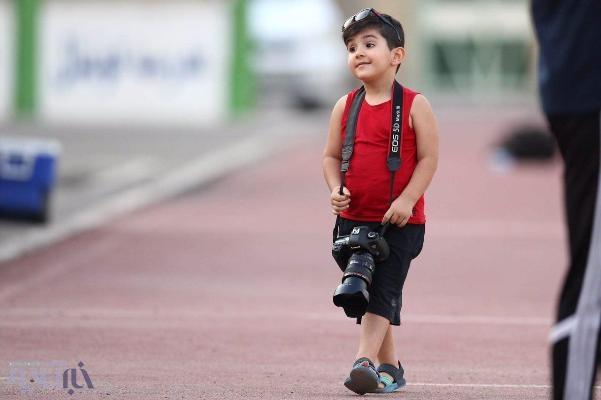 تصاویر/ عکاسی نیکان 4 ساله از علی دایی