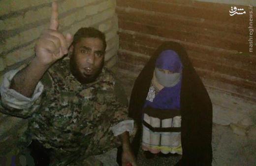 دستگیری زن انتحاری داعشی+عکس
