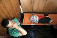 یک کودک شیرخواره فلسطینی در آتش صهیونیستها زنده زنده سوخت