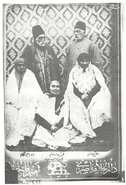 عکس/ فرزندان فتحعلی شاه