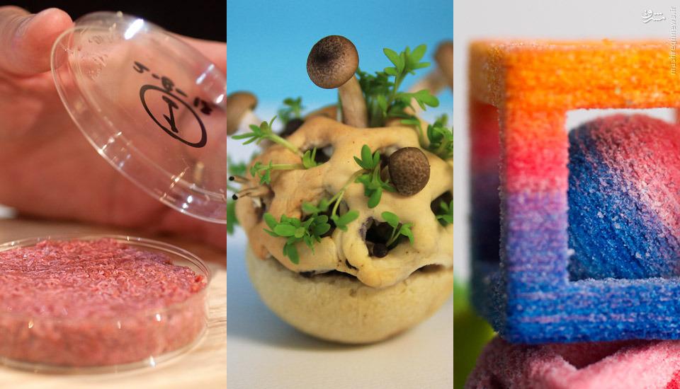 از این به بعد از غذاهای مورد علاقهتان پرینت بگیرید+عکس