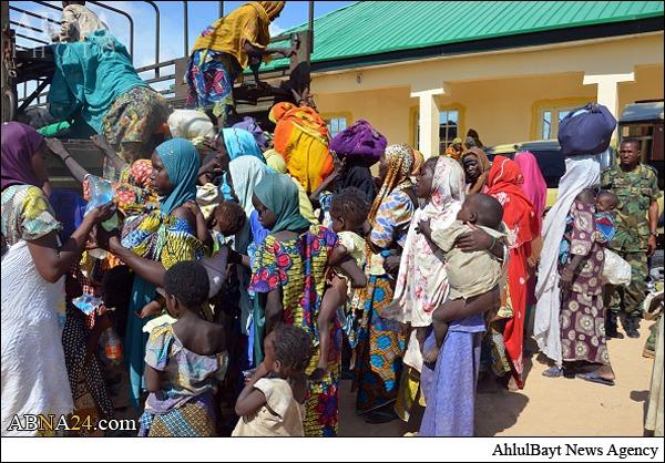 آزادی ۵۹ نفر از بند گروه تروریستی بوکوحرام + عکس