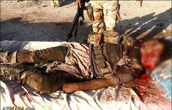 هلاکت جلاد داعش در صقلاویه+عکس