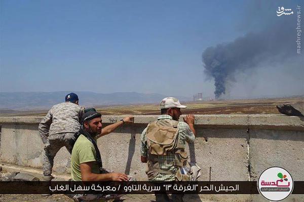 وخامت اوضاع میدانی سهل الغاب/خطر گسترش حملات تروریستها به شمال لاذقیه/