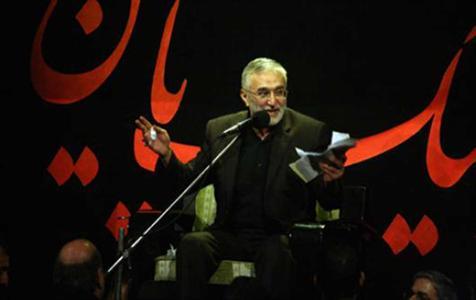 صوت/ روضه حاج منصور در شهادت امام صادق(ع)