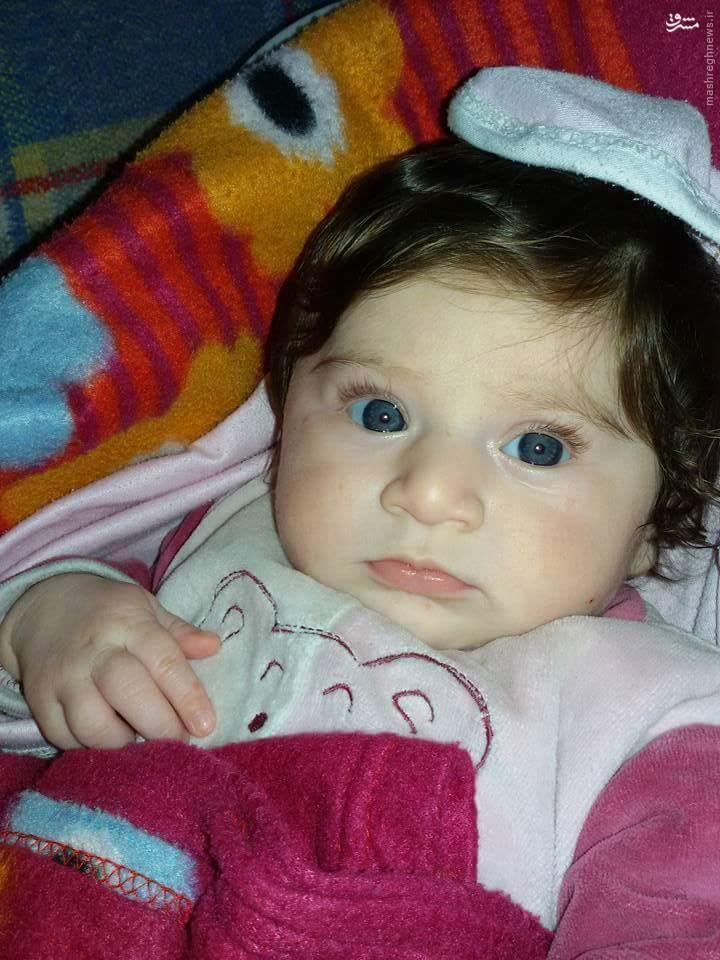 عکس کودک سه ماهه