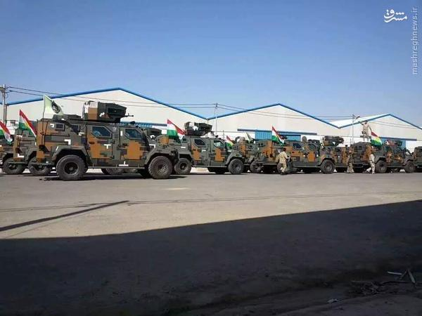 تسلیحات پیشرفته کردهای عراقی+تصاویر