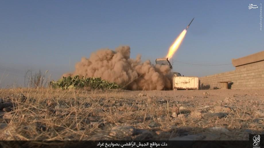 حملات پراکنده داعش به مراکز نظامی در صلاح الدین عراق+تصاویر