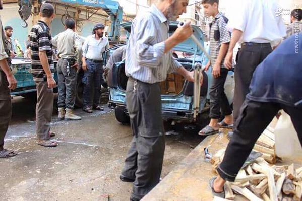 شکست طرح ترور فرمانده ارشد اجناد شام در دمشق+تصاویر