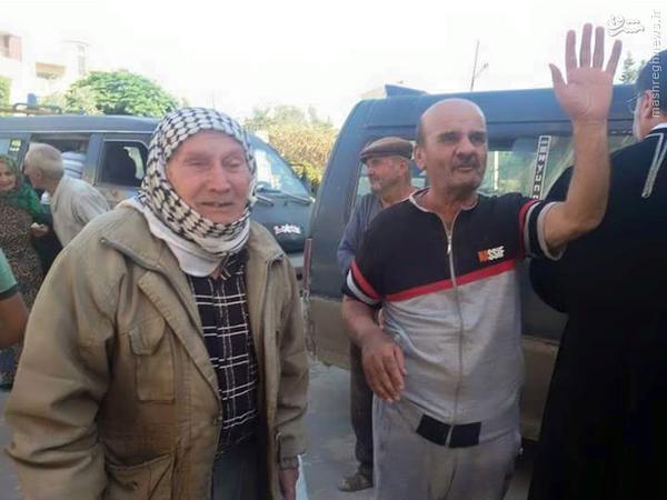 آزادی گروگانهای آشوری توسط داعش+تصاویر
