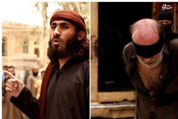 اعدام شهروند سوری توسط داعش+تصاویر