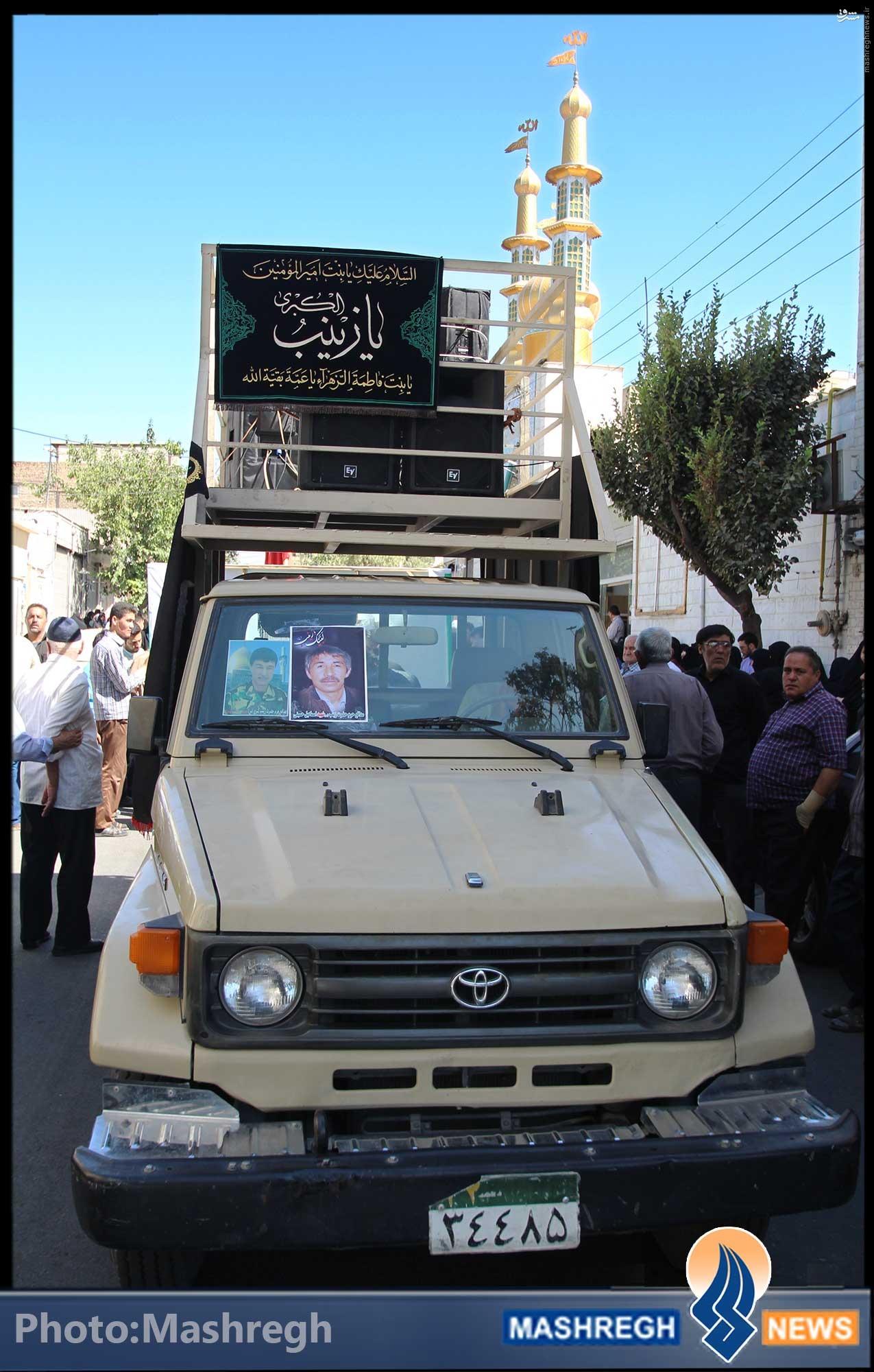 تصاویر/ شلوغ ترین روز «فاطمیون» در خیابان «شهادت»