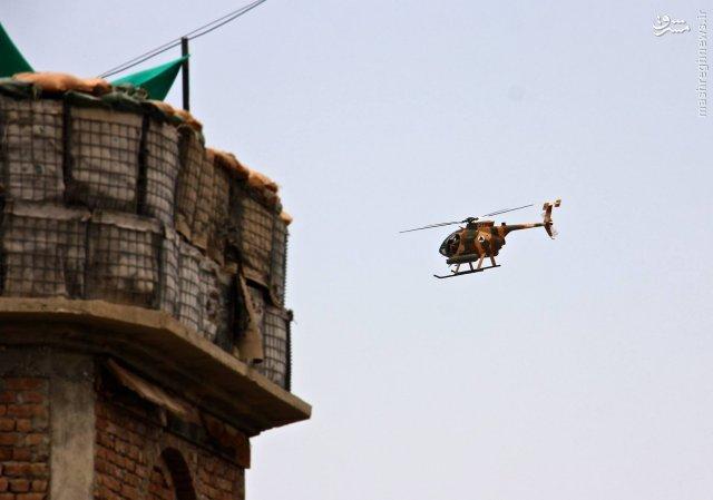 آغاز عملیات بالگردهای MD 530F افغانستان+عکس