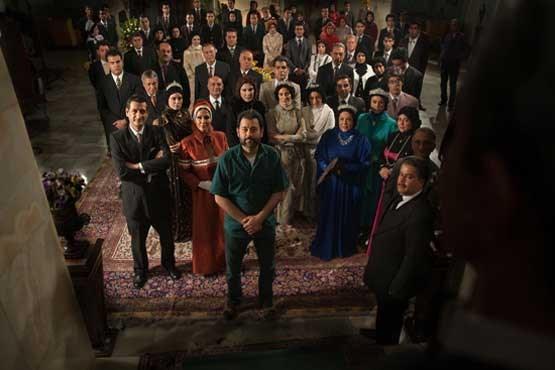 تصاویری جدید از یک سریال فاخر ایرانی