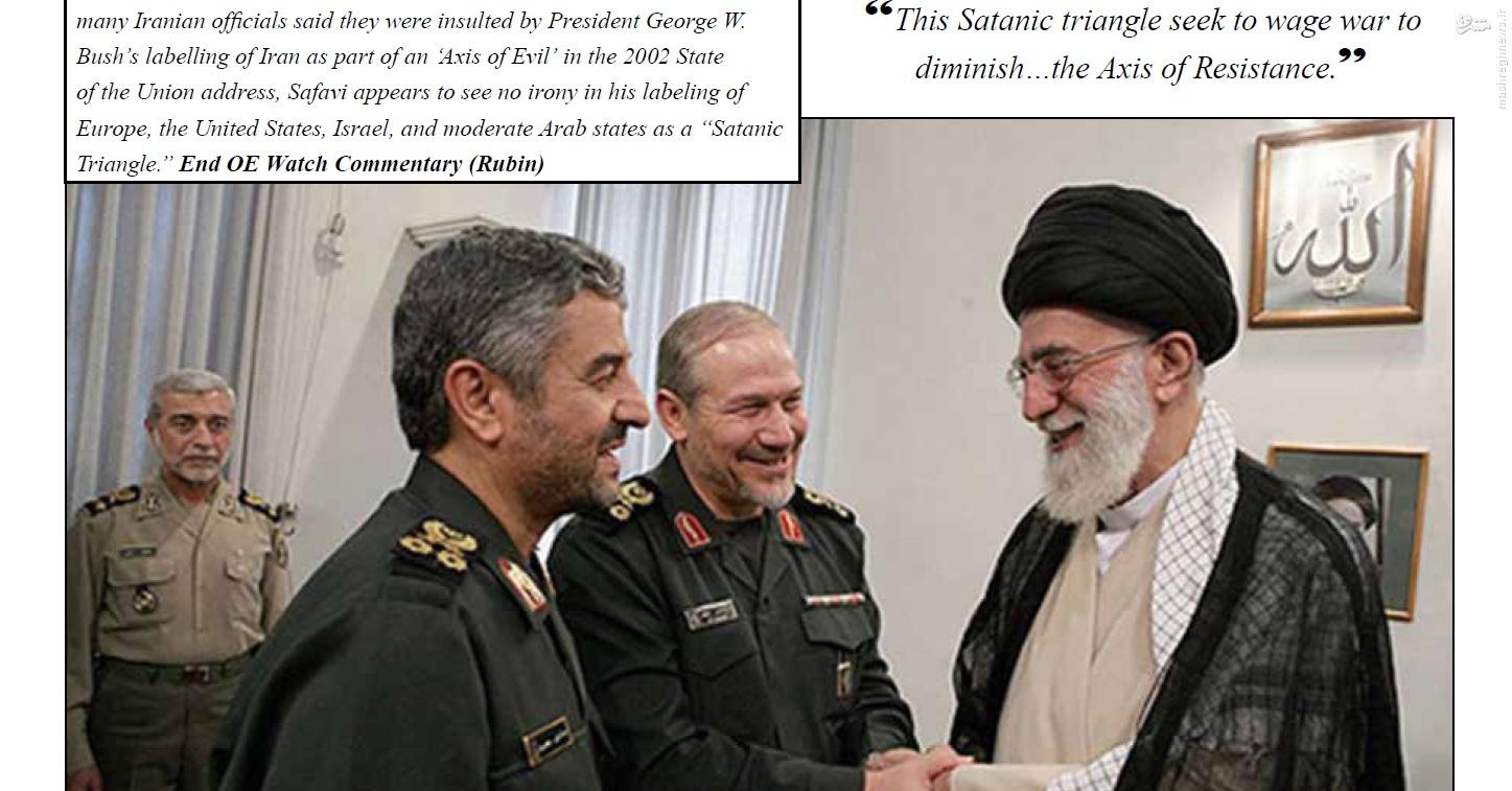 ذرهبینی برای کوچکترین تحرکات ایران