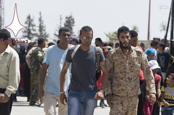 بازگشت ساکنین الحسینیه دمشق+تصاویر