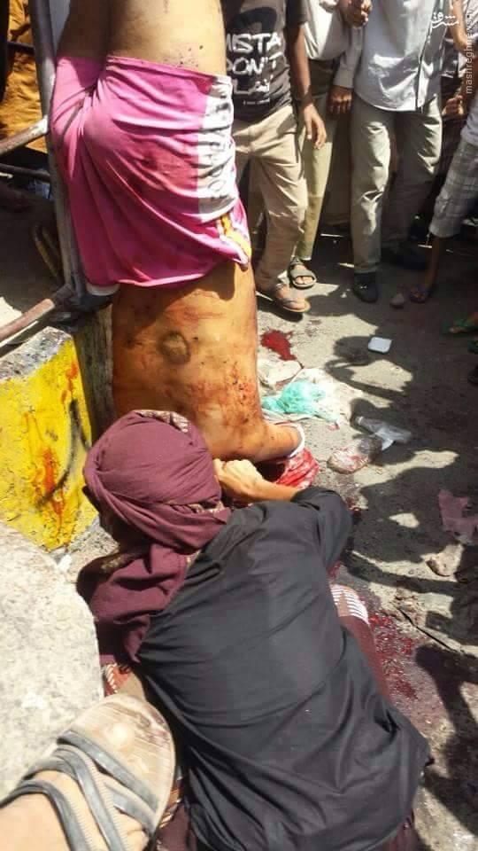 سلاخی اسیر ارتش یمن توسط القاعده در تعز+تصاویر +18