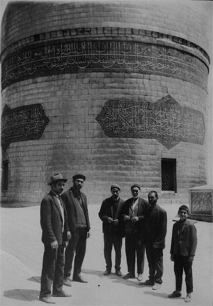 چه کسی سنگ مزار امام رضا(ع) را حجاری کرد+ عکس