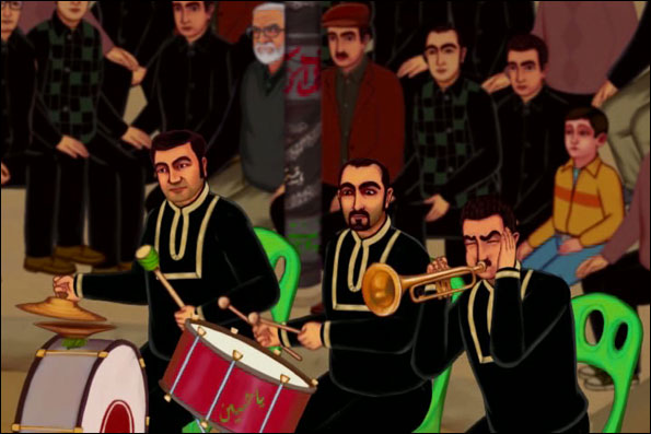 «مجلس آئینه»؛ اولین تعزیه انیمیشنی+تصاویر
