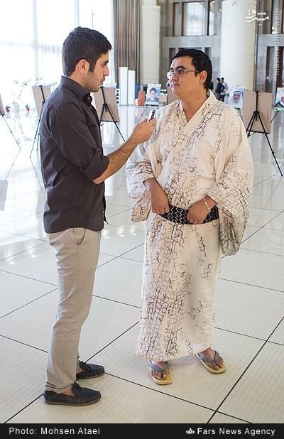 عکس/پوشش جالب شیعه ژاپنی در تهران