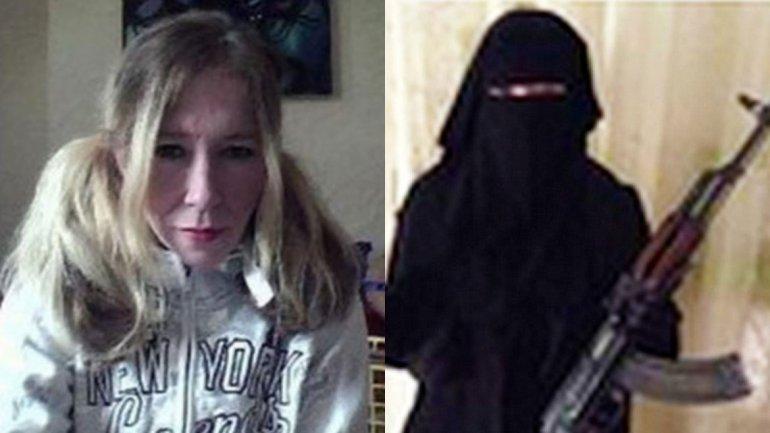 بانوی تروریسم داعش/ در حال ویرایش