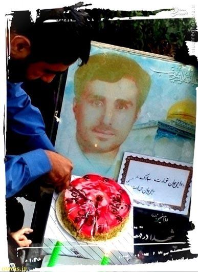 عکس/جشن تولد شهید مدافع حرم