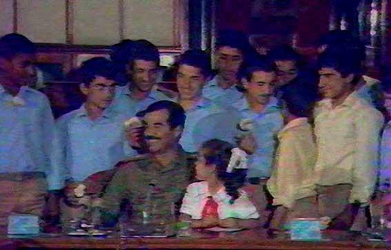 صوت/ ملاقات با صدام و دخترش در کاخ سیندرلا