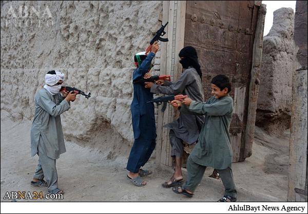 عکس جنگ در افغانستان