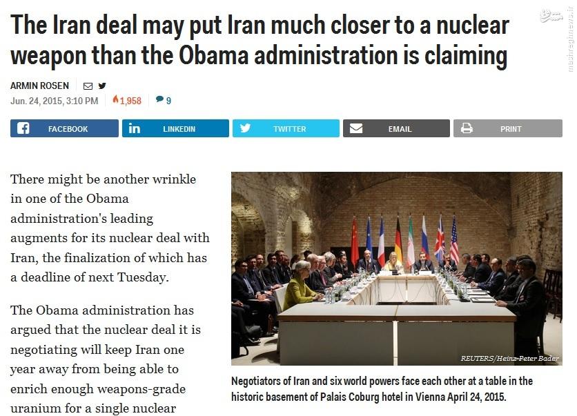 ایرانهراسی با طعم جمعبندی مذاکرات // در حال ویرایش