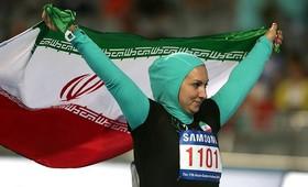 اولین بانوی ایرانی حاضر در المپیک 2016 ریو