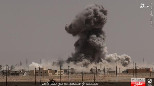 عملیات انتحاری تبعه مصری در بیجی عراق+تصاویر