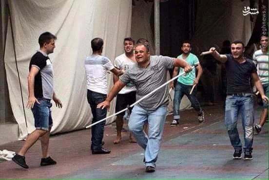 درگیریها در شهر آنالیای ترکیه بالا گرفت+تصاویر