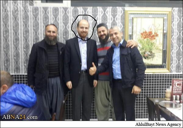 ارتباط پسر اردوغان با داعش + عکس