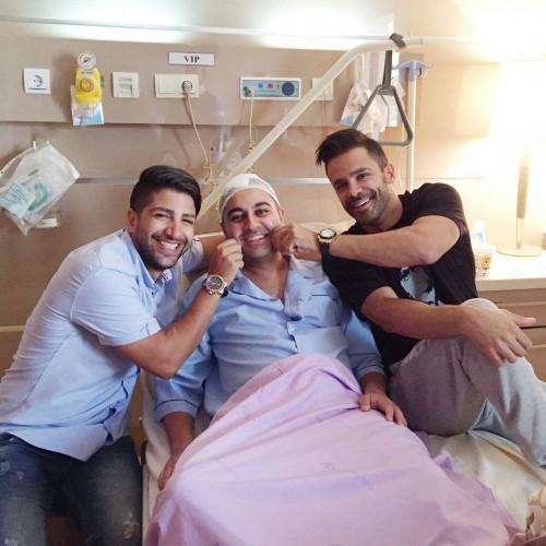 آخرین وضعیت بهنام صفوی بعد از عمل جراحی