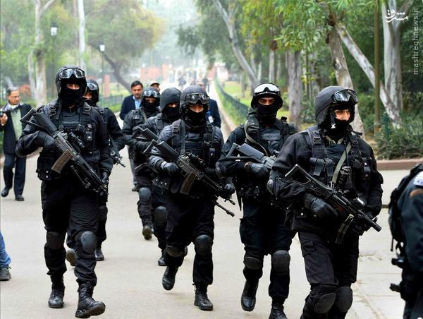 از گربه های سیاه وزرات کشور هند تا مردان قورباغه ای ارتش اندونزی+عکس (آماده نیست!!!)