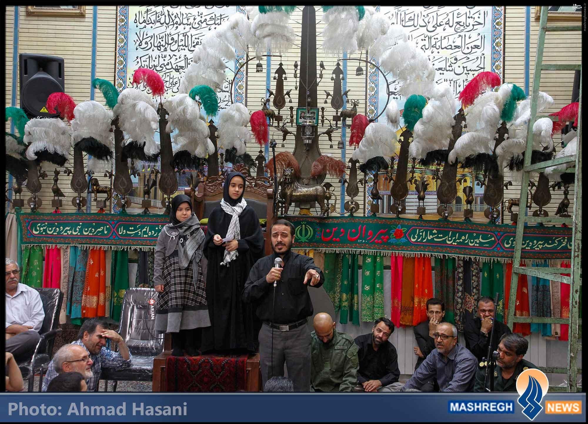 تصاویر/ تشییع اولین برادرانِ «مدافع حرم» در مشهد