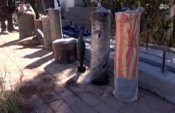تصرف مقر تروریستها در زبدانی توسط حزب الله+تصاویر