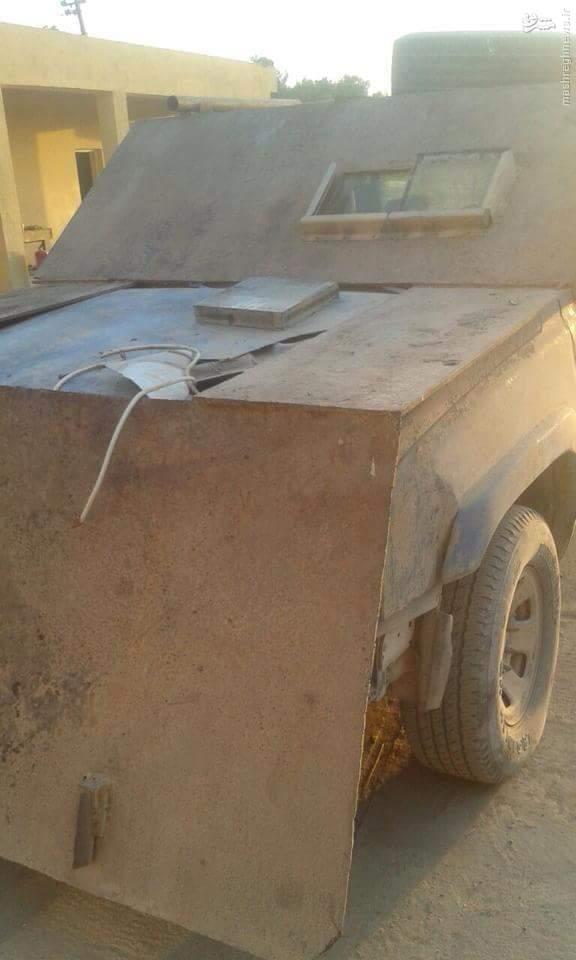 نیروهای عراقی خودروی بمبگذاری شده داعش در موصل را خنثی کردند