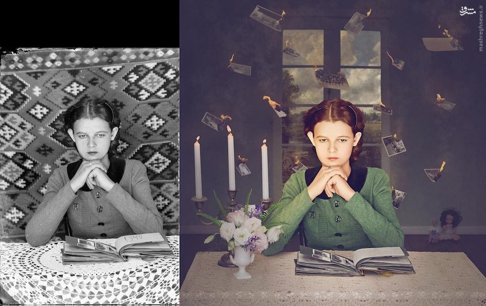 تصاویر قدیمی و جادوی فوتوشاپ