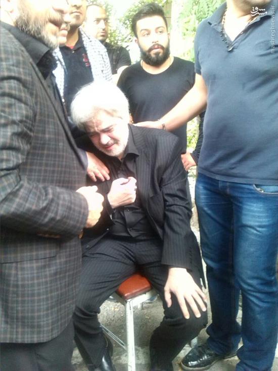 مراسم تشییع پیکر علی طباطبایی برگزار شد + عکس