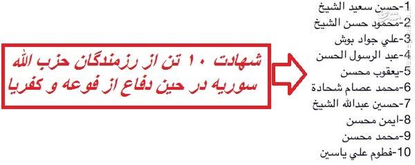 انهدام تانک و نفربر تروریستها در فوعه و کفریا/بازگشت نیروی هوایی ارتش به آسمان منطقه/