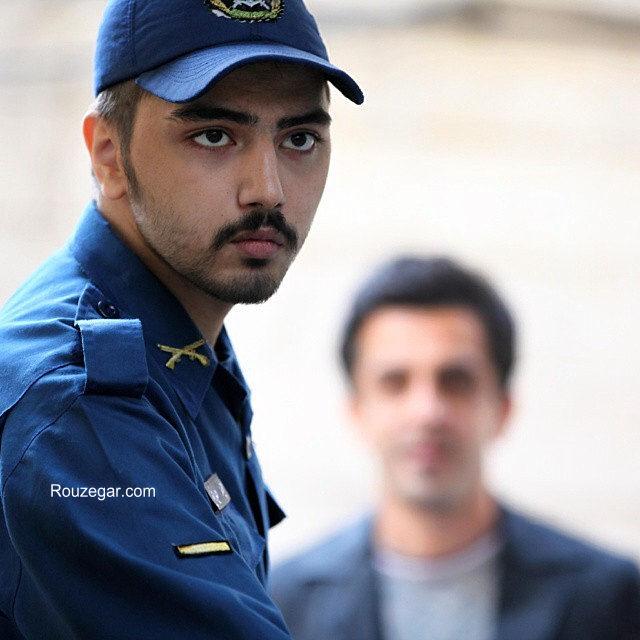 عکس/ علی طباطبایی در لباس سربازی