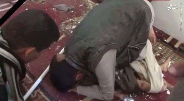حمله انتحاری داعش به مسجدی در صنعا+تصاویر
