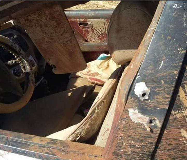 ترور فرمانده ارشد تروریستها در درعا+تصاویر