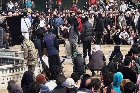 اعدام فرمانده پلیس داعش در رقه