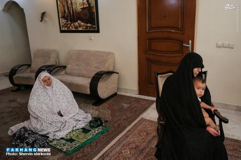 میگفت خانم! من با ترور نمیمیرم، انشاءالله در میدان جهاد/ به آقا گفتم همه این دلتنگیها با دیدار شما محو شد / جلوی داعشیها اذان میگفت