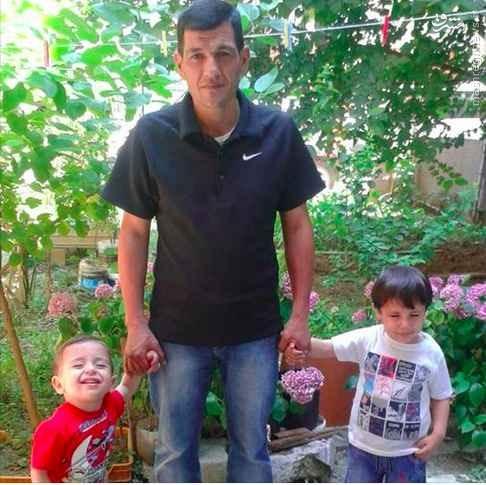دفن جسد کودک پناهجوی سوری+تصاویر
