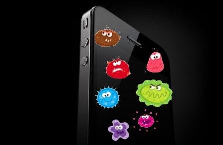 تلفنهای همراه آلوده تر از سنگ توالت