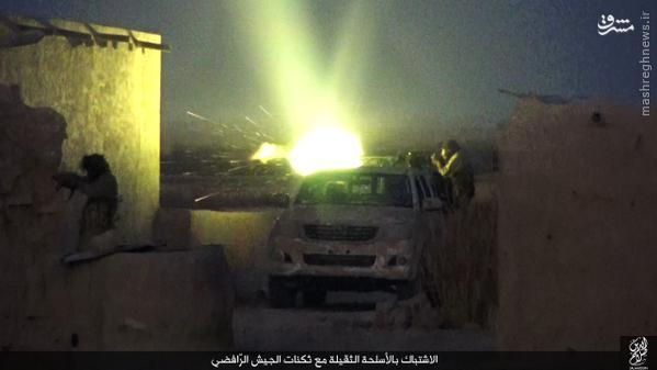 درگیریهای سامرا به روایت داعش+تصاویر